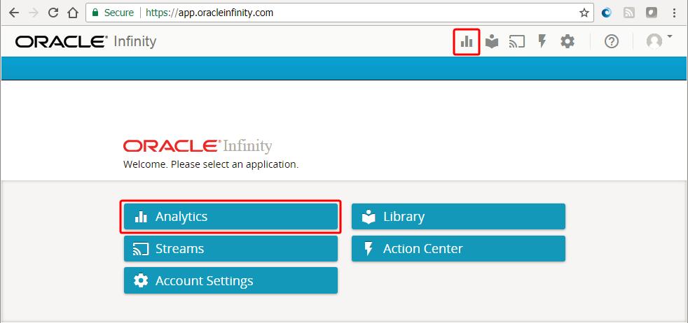 Облачные технологии  с функцией Oracle Infinity